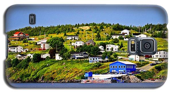 Town Galaxy S5 Case - Fishing Village In Newfoundland by Elena Elisseeva