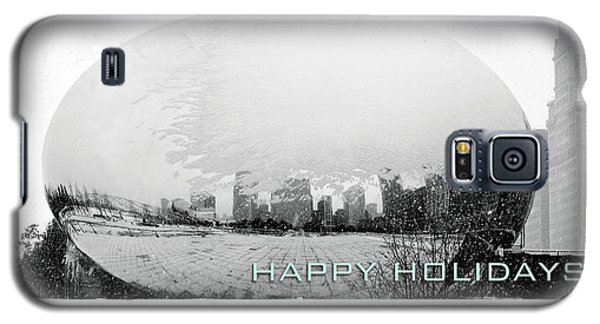 Happy Holidays From Chicago Galaxy S5 Case