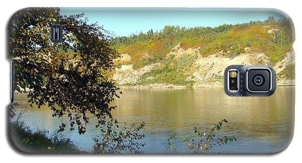 Galaxy S5 Case featuring the photograph North Saskatchewan River by Jim Sauchyn