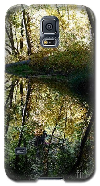 Galaxy S5 Case featuring the photograph Oak Creek Reflection by Tam Ryan