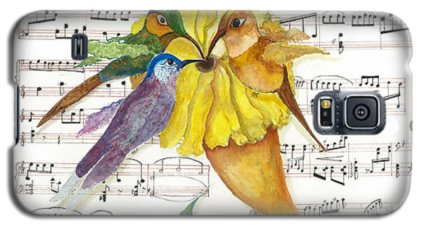2 Of 2 - Natures Symphony-in Three-part Harmony Galaxy S5 Case by Joy Braverman