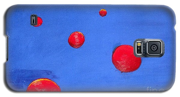 Orbs In Space 1 -- Crossing Paths Galaxy S5 Case by Rod Ismay