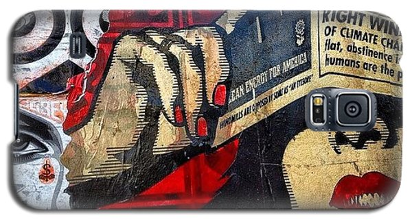 Political Galaxy S5 Case - Wynwood - Miami by Joel Lopez