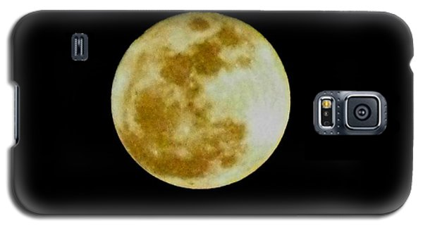 Galaxy S5 Case featuring the photograph 2011 Full Moon by Maria Urso