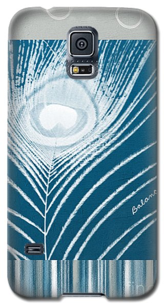 Peacock Galaxy S5 Case - Balance by Linda Woods