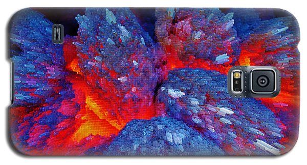 Charcoal Fire Galaxy S5 Case