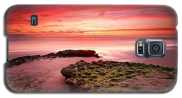 Long Exposure Sunset At A North San Galaxy S5 Case by Larry Marshall