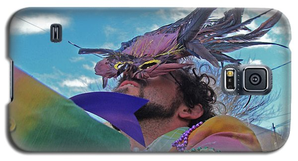 Mardi Gras Day In New Orleans Galaxy S5 Case