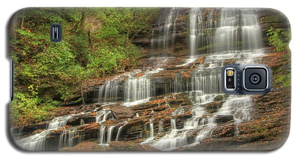 Galaxy S5 Case featuring the photograph Pearson's Falls - Summer by Doug McPherson