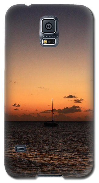 Galaxy S5 Case featuring the photograph Sunset by Catie Canetti