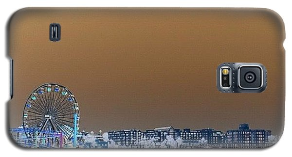 Cool Galaxy S5 Case - Santa Monica by Luisa Azzolini
