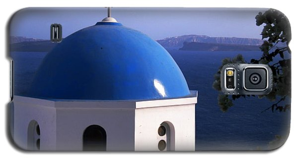 Galaxy S5 Case featuring the photograph Santorini Greece by Colette V Hera  Guggenheim