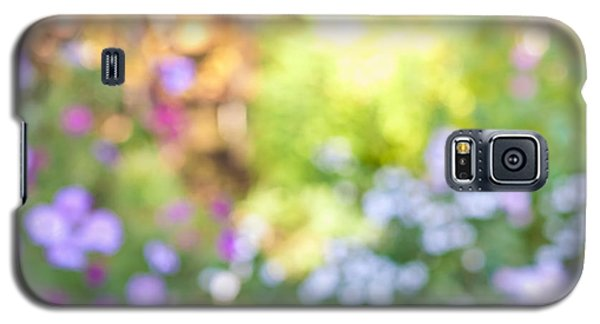 Garden Galaxy S5 Case - Flower Garden In Sunshine by Elena Elisseeva