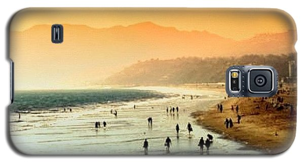 Beautiful Galaxy S5 Case - Santa Monica Beach by Luisa Azzolini