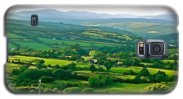 Galaxy S5 Case featuring the photograph 50 Shades Of Green by Charlie and Norma Brock