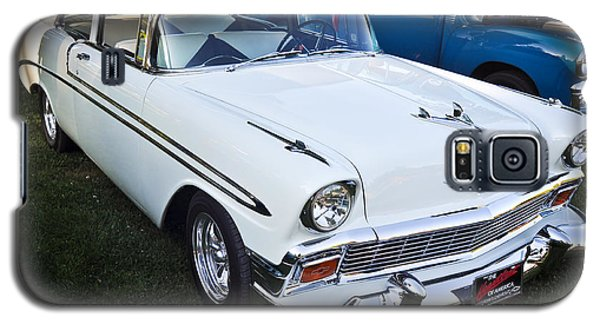 Galaxy S5 Case featuring the photograph '56 Chevy 1 by Ronda Broatch