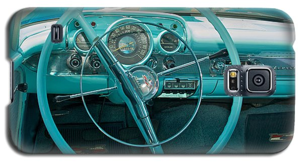 57 Chevy Bel Air Interior 2 Galaxy S5 Case