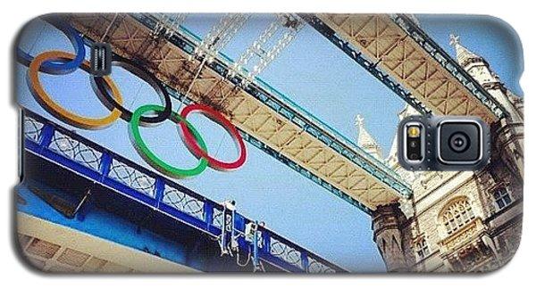 #london2012 #london #olympics Galaxy S5 Case by Nerys Williams
