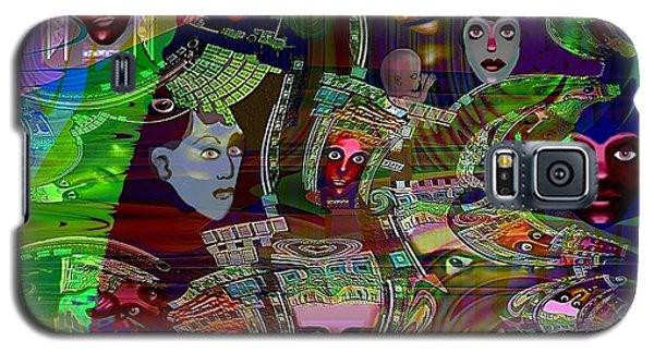 636 - People Masks Galaxy S5 Case