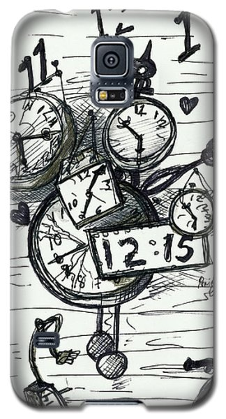 Broken Clocks Galaxy S5 Case
