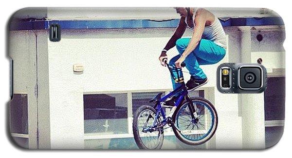 Workout Galaxy S5 Case - Bmx O Marisquiño #bmx #marisquiño by Hugo Sa Ferreira