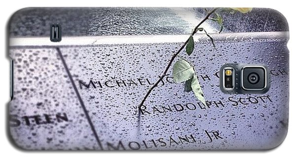 Blue Galaxy S5 Case - 9/11 Memorial by Randy Lemoine