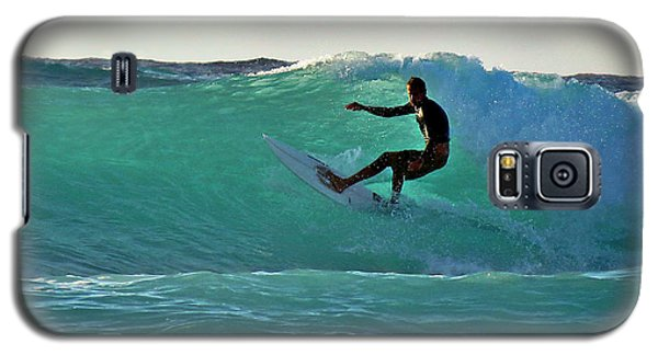 A-bay Sunset Surfer Galaxy S5 Case