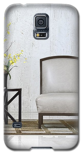 A Chair And A Table With A Plant  Galaxy S5 Case