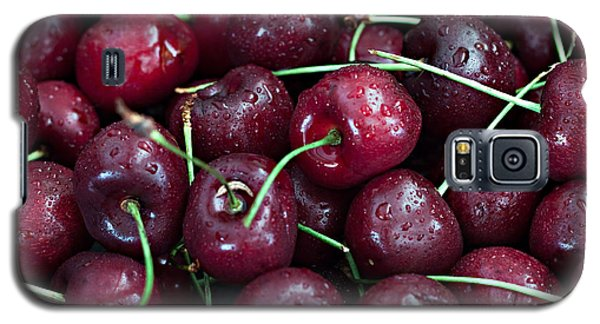 Galaxy S5 Case featuring the photograph A Cherry Bunch by Sherry Hallemeier