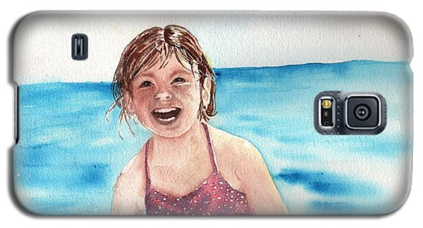 A Day At The Beach Makes Everyone Smile Galaxy S5 Case by Sharon Mick