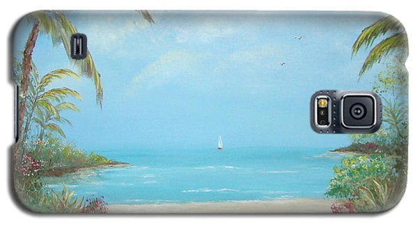 A Day In The Tropics Galaxy S5 Case by Leea Baltes