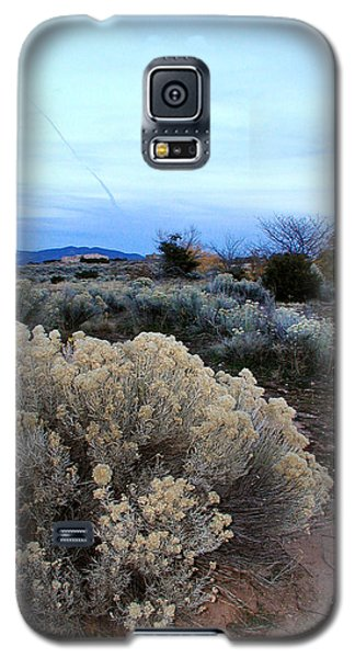 A Desert View After Sunset Galaxy S5 Case