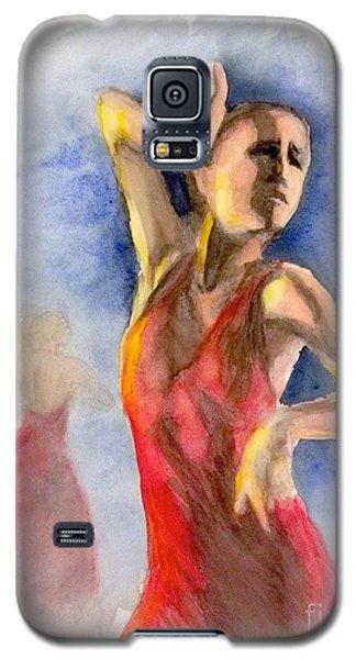 A Flamenco Dancer  2 Galaxy S5 Case by Yoshiko Mishina