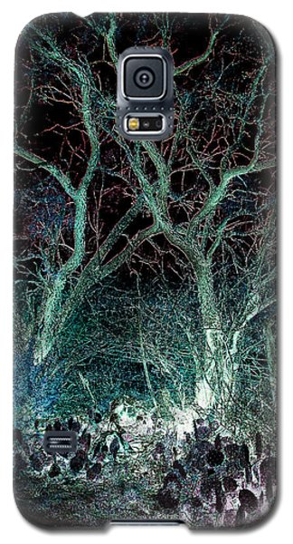 A Ghost Story Told On March Road Galaxy S5 Case by Louis Nugent