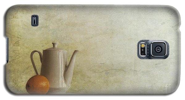 Still Life Galaxy S5 Case - A Jugful Tea And A Orange by Priska Wettstein