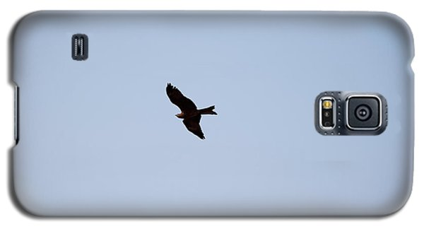 Galaxy S5 Case featuring the photograph A Kite Flying High In The Sky by Ashish Agarwal