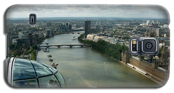 A London Eye's View Galaxy S5 Case