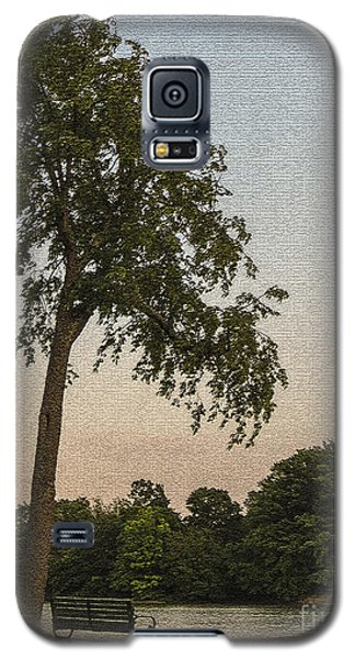 A Lonely Park Bench Galaxy S5 Case by Darleen Stry
