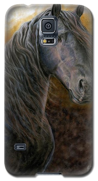 Galaxy S5 Case featuring the painting A Natural Beauty by Sheri Gordon