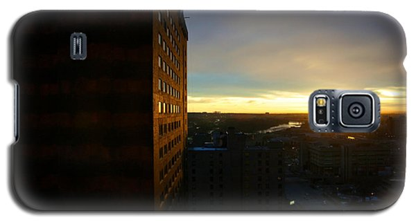 A New Day Begins Calgary Alberta Galaxy S5 Case by JM Photography