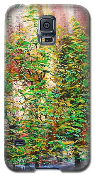 Galaxy S5 Case featuring the painting A Peaceful Place by Dan Whittemore