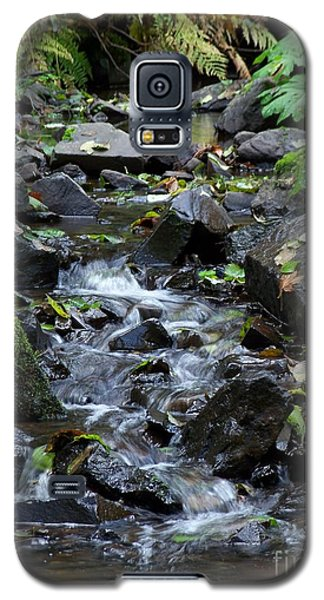 Galaxy S5 Case featuring the photograph A Peaceful Stream by Chalet Roome-Rigdon