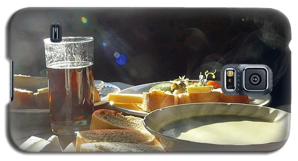 Galaxy S5 Case featuring the photograph A Ploughman's Lunch by Rdr Creative