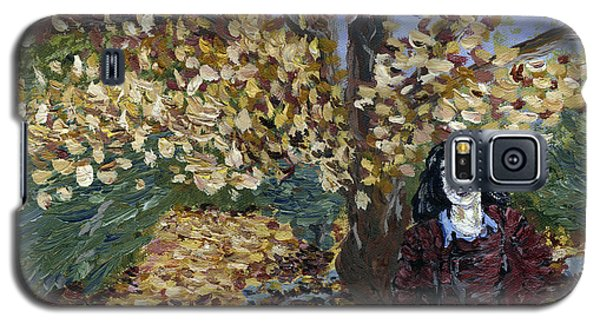 A Portrait Of The Artist's Mother In Autumn Galaxy S5 Case by Denny Morreale