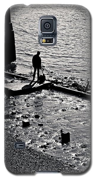 Galaxy S5 Case featuring the photograph A Quiet Moment... by Lenny Carter