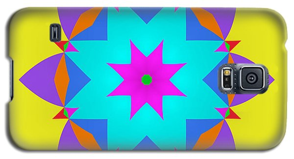 Galaxy S5 Case featuring the digital art A Simple Fractal by Mario Carini