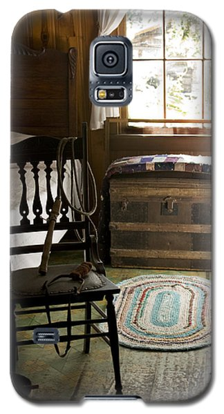 Galaxy S5 Case featuring the photograph A Simpler Life by Lynn Palmer