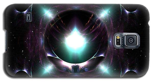 Galaxy S5 Case featuring the digital art A Spacial Odyssey by Mario Carini