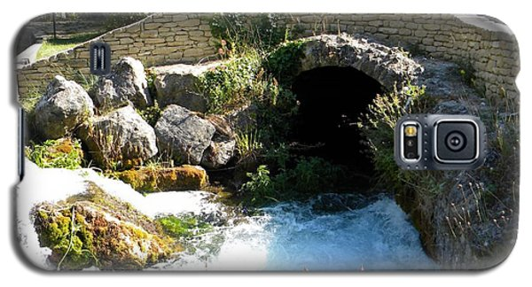 A Stream In Provence Galaxy S5 Case by Manuela Constantin