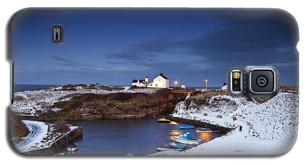 Galaxy S5 Case featuring the photograph A Village On The Coast Seaton Sluice by John Short